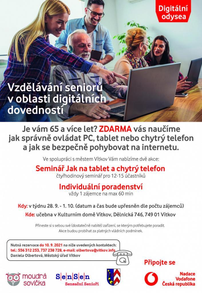 Vzdělávání seniorův oblasti digitálníchdovedností 1