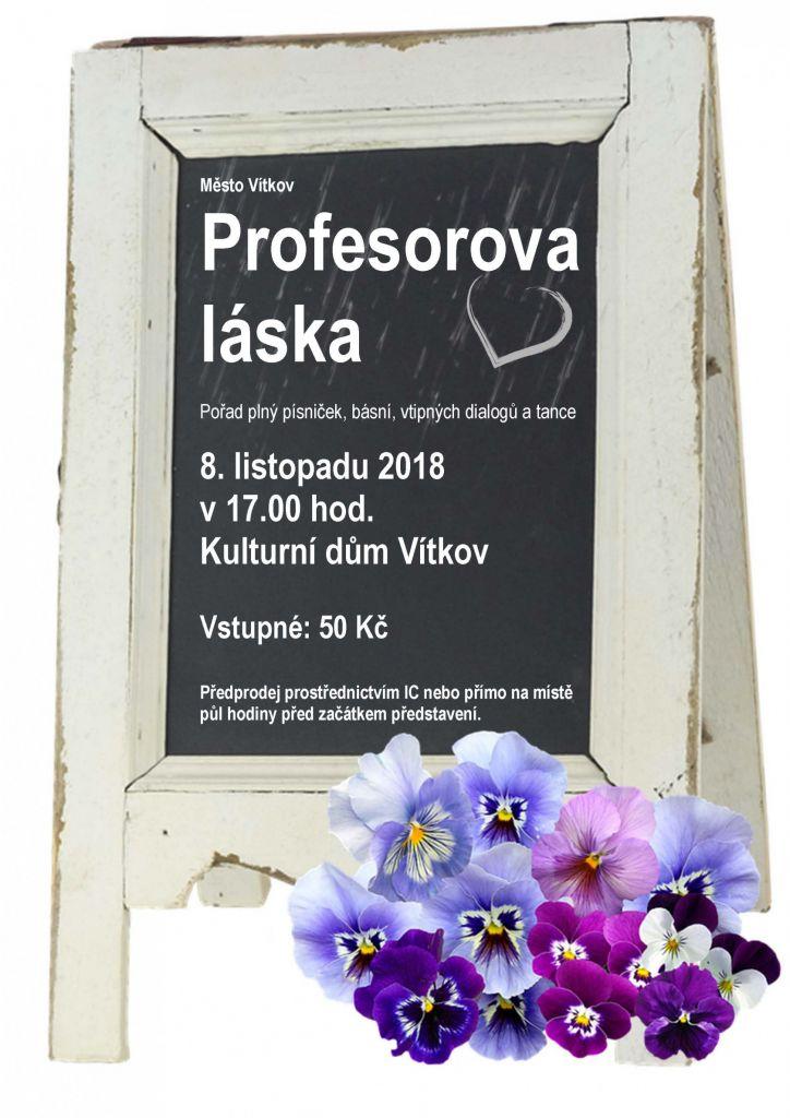Profesorova láska 1