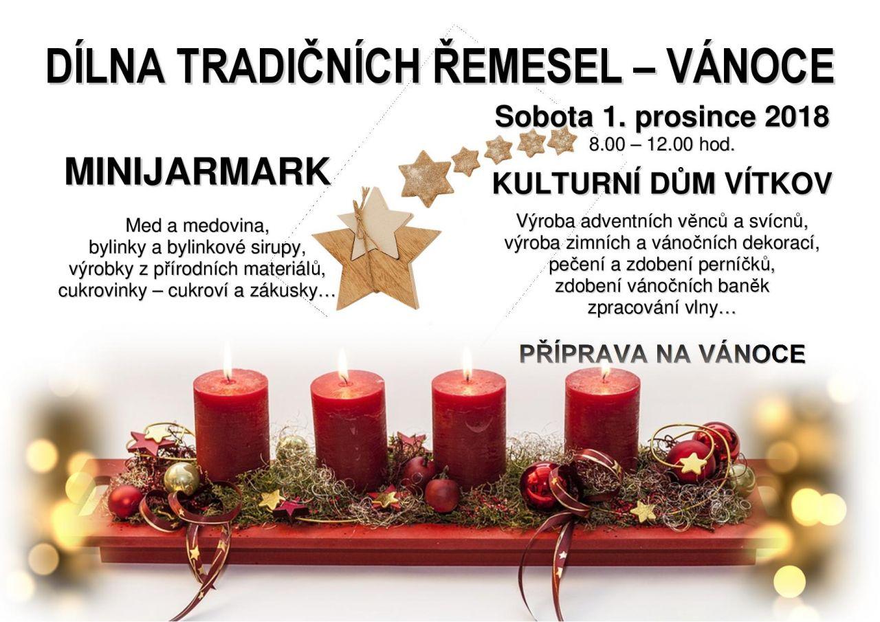 Dílna tradičních řemesel - Vánoce 1