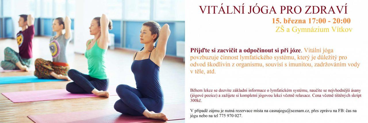 Vitální jóga pro zdraví 1