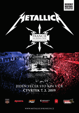 Metallica - Francie na jednu noc 1